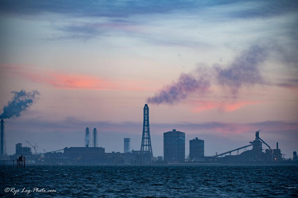egawa kaigan 江川海岸 千葉 工場 写真