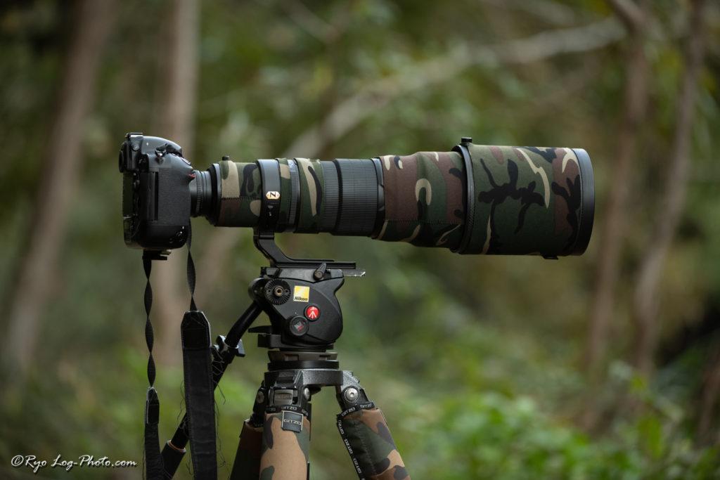 照準器 カメラ 取付金具 使用例
