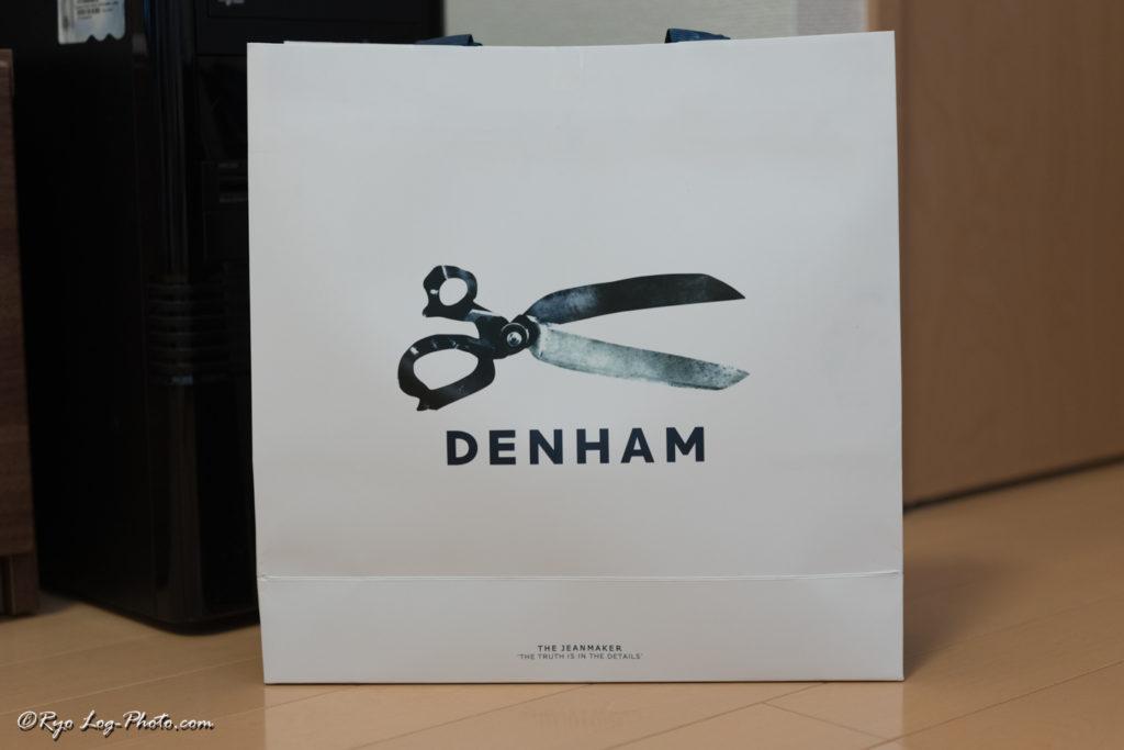 denham hammer ハサミロゴ デンハム ショップバッグ