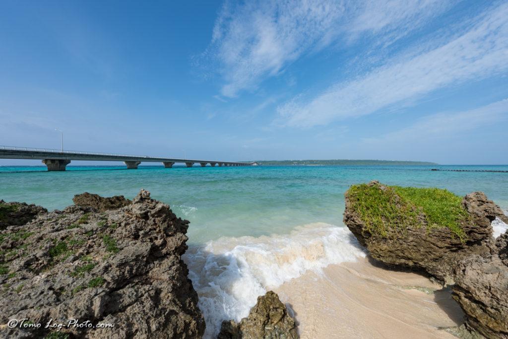 Okinawa Miyako Island 宮古島 ビーチ Yonaha Maehama Beach