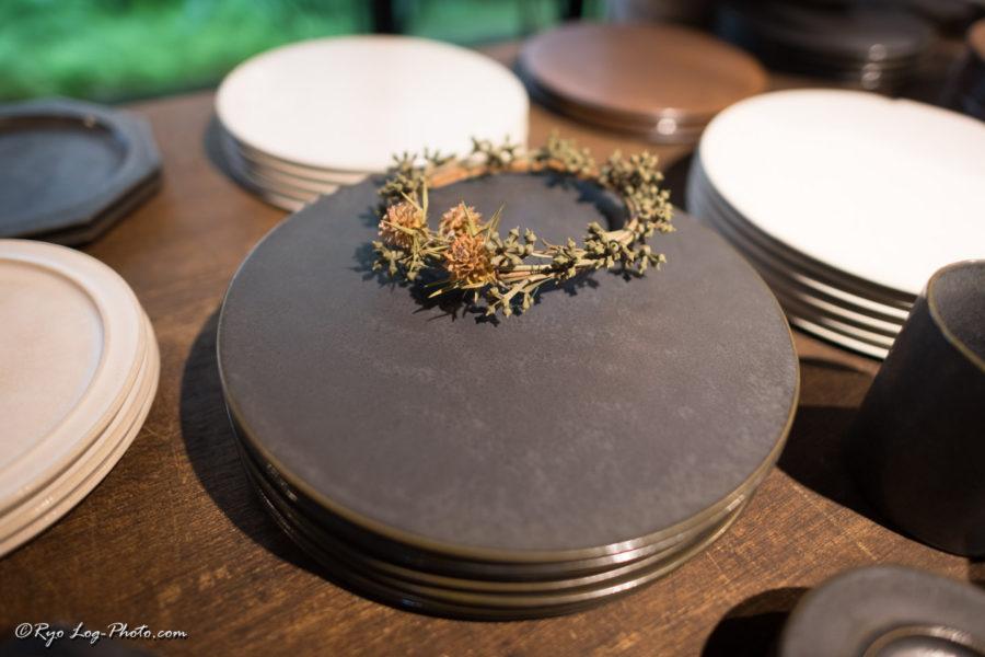 北條潤 益子焼 陶器 皿