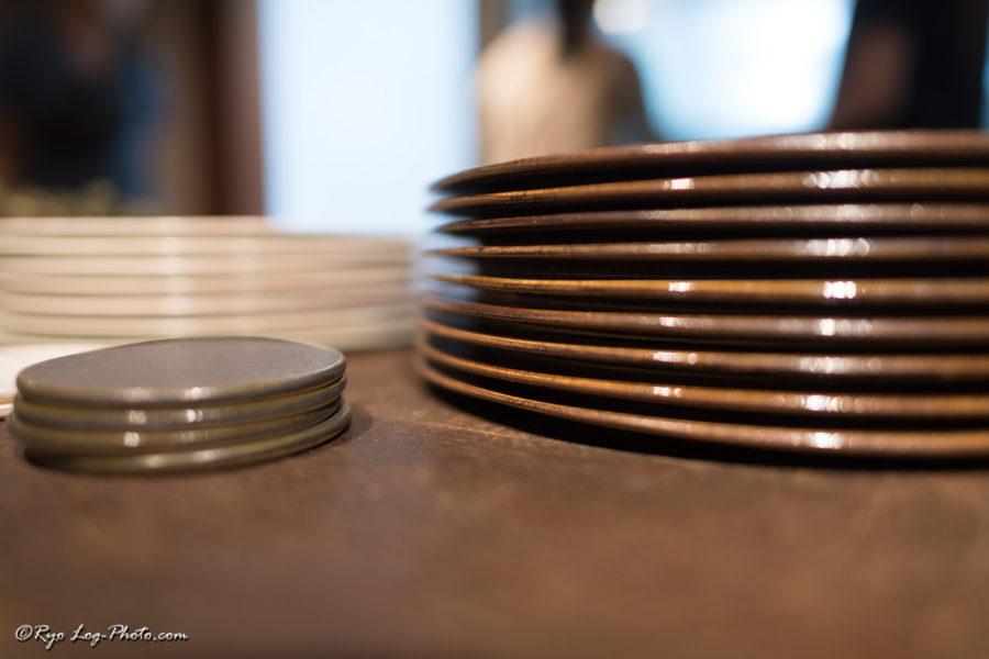 北條潤 益子焼 陶器 平皿