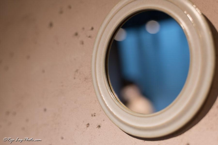 北條潤 陶器 鏡