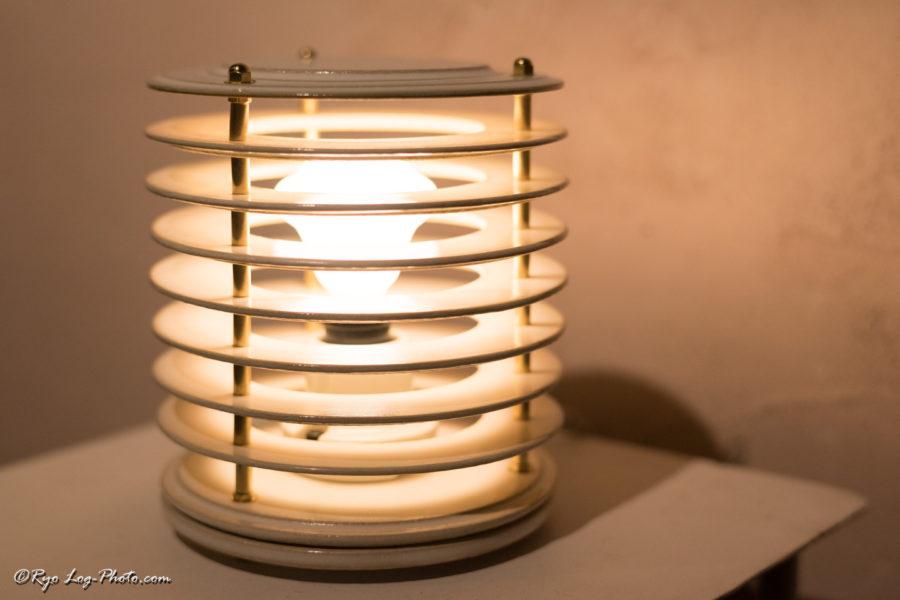 北條潤 陶器 ランプ 電気 ライト