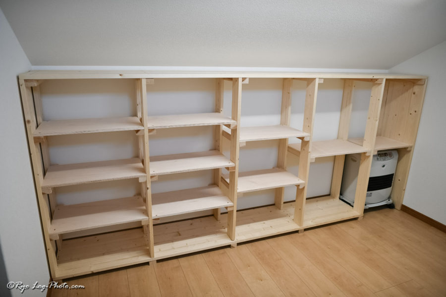 自作 本棚 作り方 木