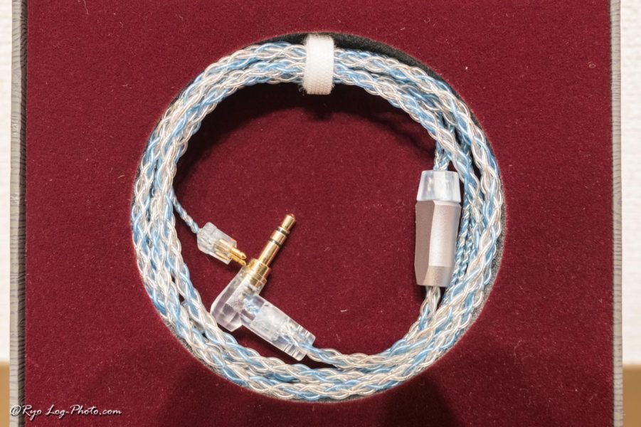luminox audio booster blue fitear リケーブル