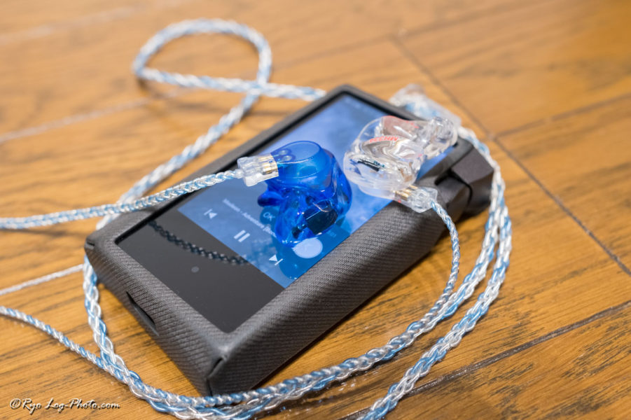 luminox audio booster blue fitear AK SR15