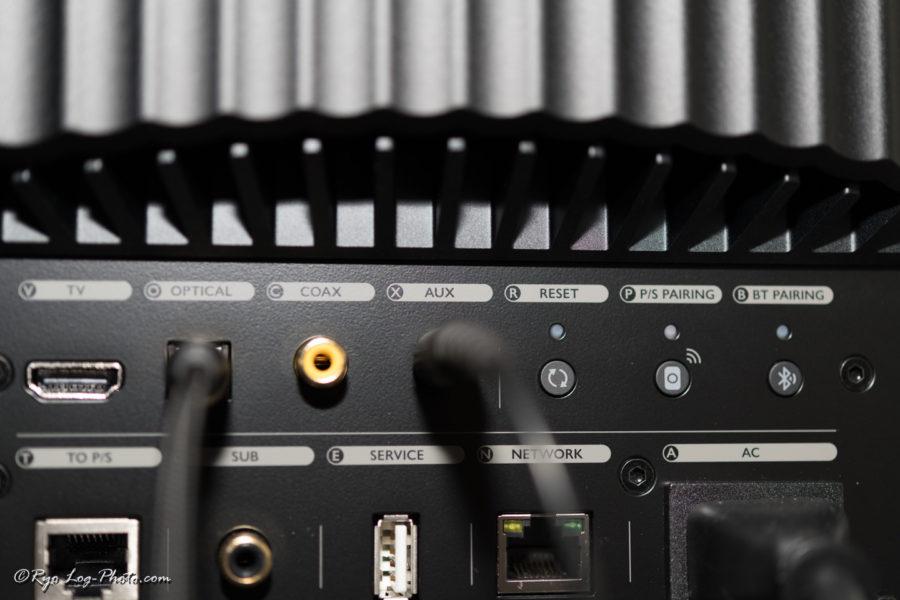 kef ls50 wirelessII 端子