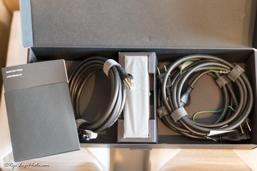kef ls50 wirelessII ケーブル